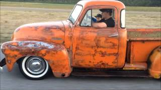 1951 Bagged Chevy Truck Rat Rod