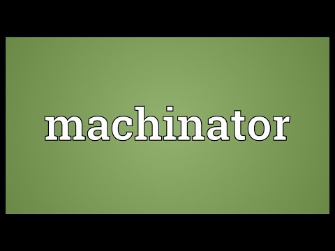 Header of machinator