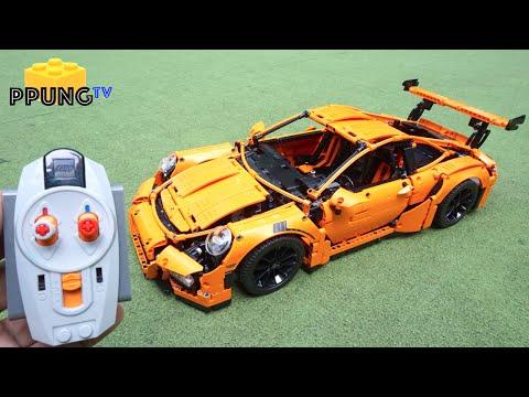 lego technic 42056 rc motorized porsche 911 gt3 rs power. Black Bedroom Furniture Sets. Home Design Ideas