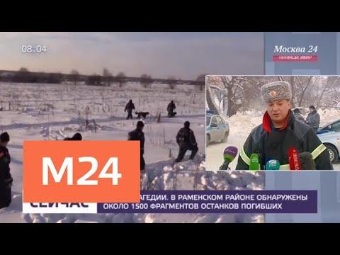 Обнаружены почти 1500 фрагментов останков погибших в катастрофе Ан-148 - Москва 24