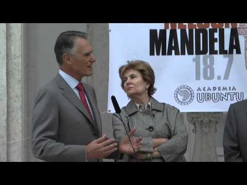 Cavaco Silva no Dia Mandela 2011