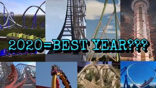 2020: The most Legendary year for Coasters?
