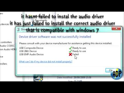 Windows 7 64 Bit - EzCap DC60+ - Audio Driver - Tutorial
