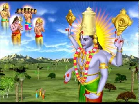 Sri Venkateswara Suprabhatam ( Stotram ) 3d Animation Songs Part 2 video