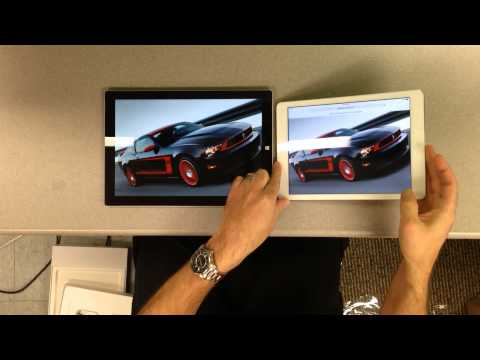 In Depth Unboxing and Comparison: Apple iPad Air vs Microsoft Surface Pro 3