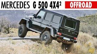 ► Mercedes G 500 4x4² - Offroad Demo