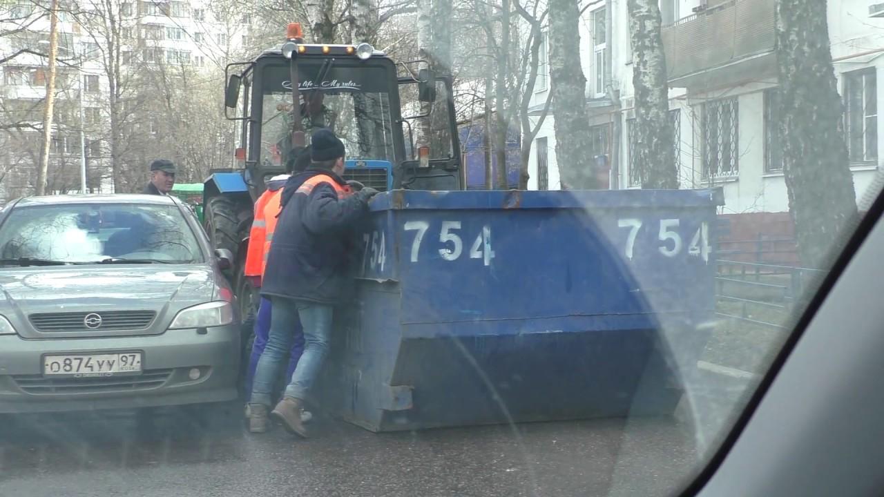 Рабочие перекрыли дорогу. Мирный протест в Зюзино