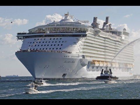 Самый большой корабль в мире!