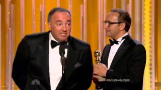 Вручение премии Золотой Глобус фильму Левиафан