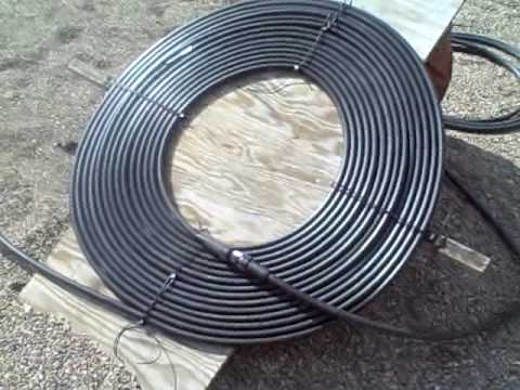 solar water heater simple DIY project