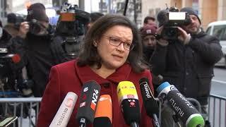 Deutschland * Nachrichten * Politik * Dritter Tag der GroKo Sondierung