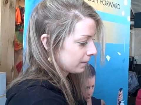Hannah Kearney visits Mount Sunapee
