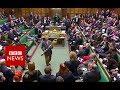Commons stir as Labour MP picks up mace - BBC News thumbnail