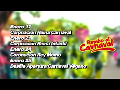 Rumbo al Carnaval Fechas Eventos