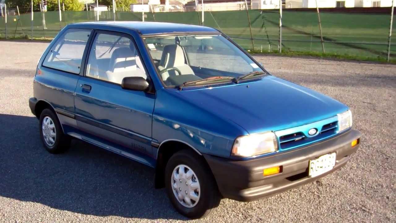 1992 Ford Festiva XL $1 NO RESERVE!!! $Cash4Cars$Cash4Cars ...