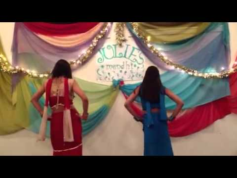 Mehndi Hai Rachne Wali Dance By Komal And Sheetal video