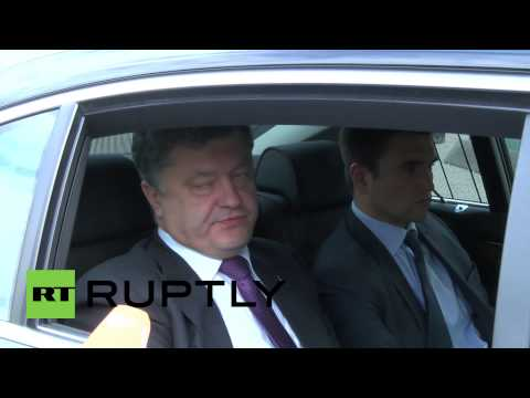 Germany: Putin and OSCE boosted Ukraine stability, says Poroshenko *EXCLUSIVE*