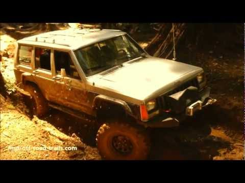 Super Sic Jeep Cherokee XJ With Six Inches Of Lift - Off Road Action