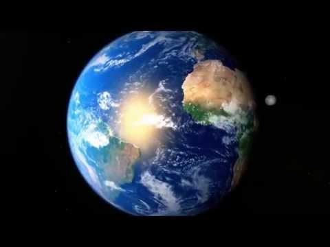 Earth animation 3D - HD - Maya 2014