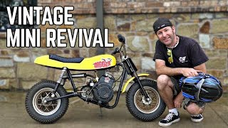 "1960s Mini Bike ""Digger"" Revival + Racing!"