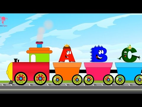 Abc Song For Children, Learn Abcd, Abc Song For Babies, Abc Train Song For Kids, Nursery Rhymes video