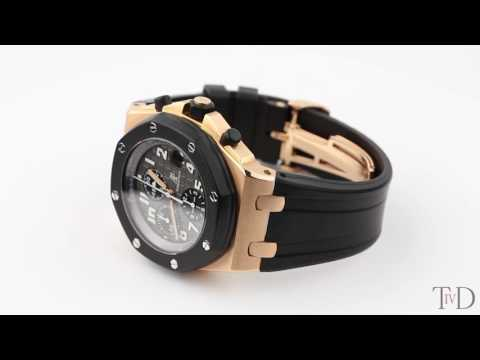 Audemars Piguet Royal Oak Offshore 42mm Rose Gold 25940OK.OO.D002CA.01 (T4D) watch review