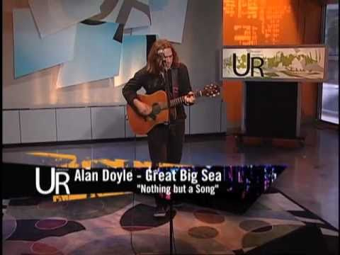 Alan Doyle from Great Big Sea performs on Urban Rush
