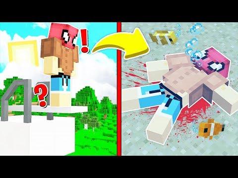 FAKİR SUDA BOĞULDU! 😱 - Minecraft