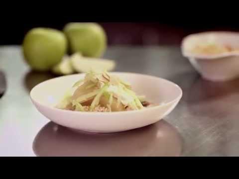 Virgin Australia Business Class Menu – Breakfast - Bircher Muesli