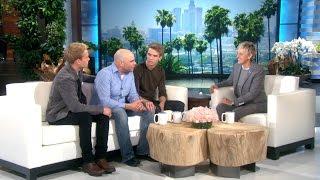 Twins Aaron and Austin Meet Ellen