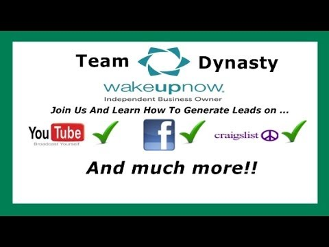 Wake Up Now   Business Overview - Wake Up Now Products And Compensation Plan Exposed! (Watch!!)