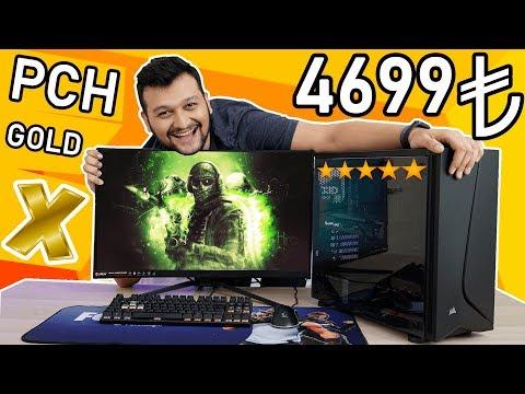ÖZEL SERİ 4699 TL M.2 SSD'Lİ OYUN VE YAYINCI ODAKLI PC TOPLAMA REHBERİ - PCH GOLD X