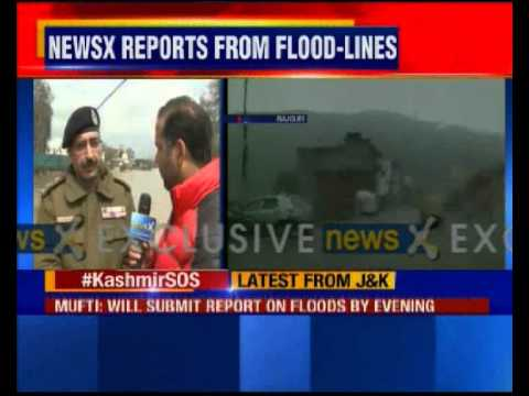 Kashmir flood: 22 missing in Laden house collapse