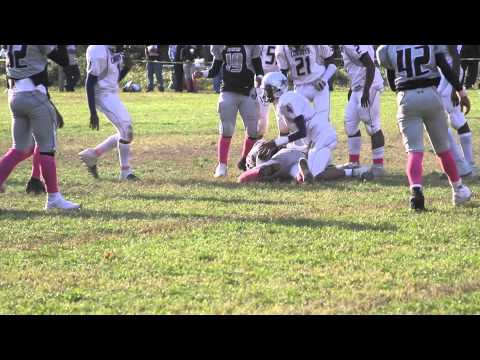 13 under Rosedale Cowboy&#039;s football player highlight reel, QB, &amp; LB... How playing Varsity at BDJ Charter High School.