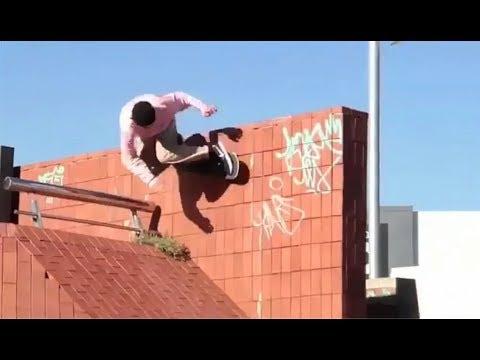 INSTABLAST! - Nollie Inward Heel Bs Tailslide Hubba!! One Legged 360 Flip!! Hill Bomb Of Death!!