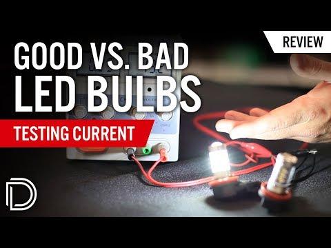 Good Vs. Bad LED Bulbs: Testing Current
