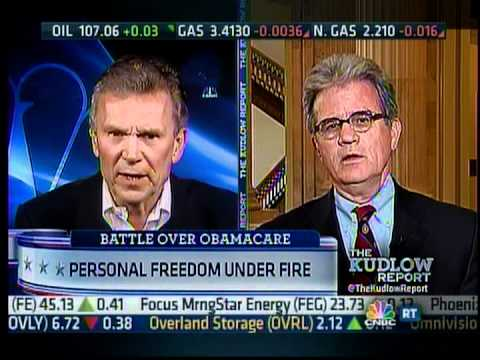 Coburn on The Kudlow Report on Problems w/ Obamacare & Gov't-run Healthcare