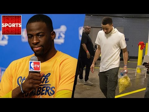 STEPH CURRY Adds Another INJURY [Draymond Green RIPS Reporter]