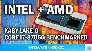 Intel Core i7-8705G Benchmarked, RX Vega M + Kaby Lake-G