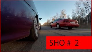 Ford Taurus SHO vs Civic 1.6 VTEC (B16A2)