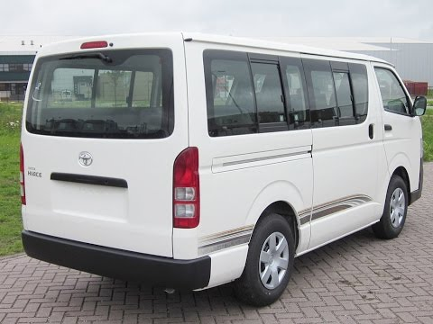 new upcoming 2017 Toyota Hiace review
