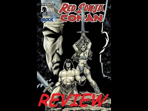 RED SONJA AND CONAN ISSUE 1 COMIC BOOK REVIEW