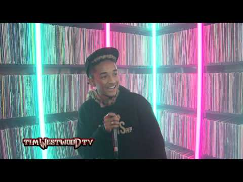 Westwood Crib Sessions - Jaden Smith freestyle pt1