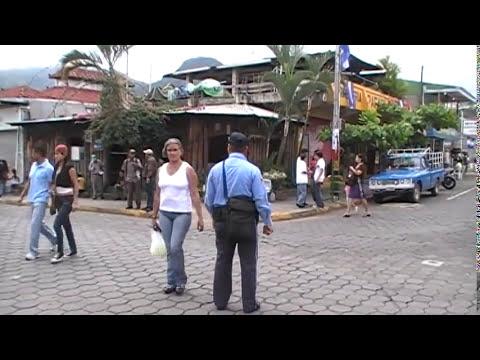 Matagalpa, calle central.