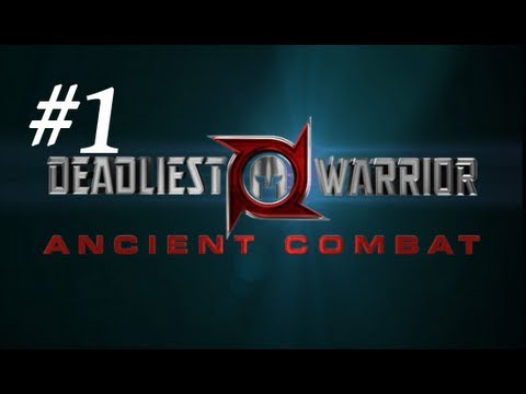Deadliest Warrior: Ancient Combat (legends) Gameplay Part 1 - Best Start Ever video