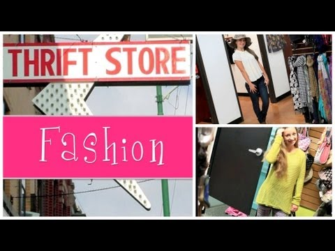 Thrift Store Fashion Show {Ep. 1}   Brooklyn and Bailey