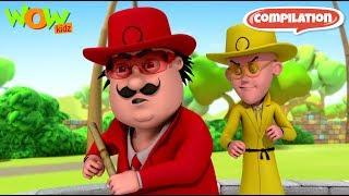 Motu Patlu - Non stop 3 episodes | 3D Animation for kids - #57