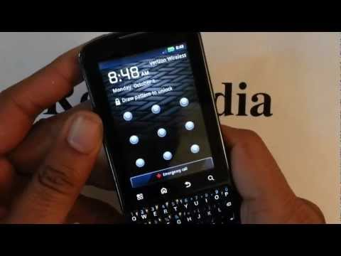 Motorola Droid Pro Verizon: Hard Reset Factory Restore Password Removal Tutorial Guide