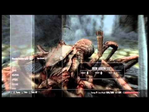 Let's Play The Elder Scrolls V: Skryim P.4 Bleak Falls Barrow