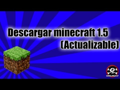 Descargar minecraft 1.5.2 (Actualizable)